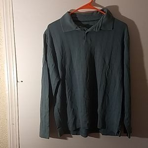 Alfani Long Sleeve Shirt SZ M